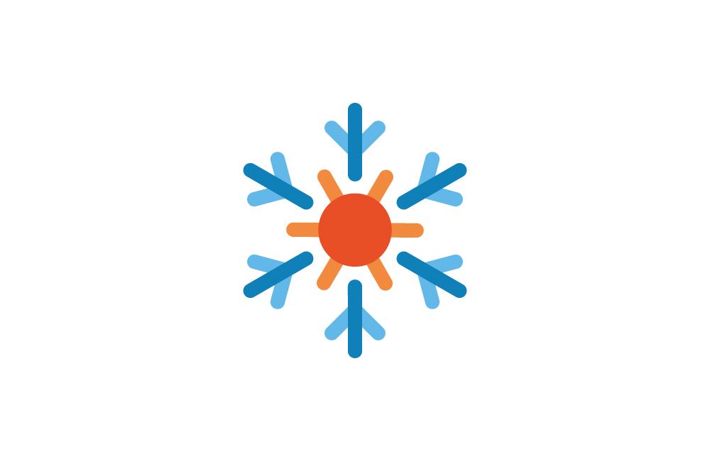 Signe Dune Identit Visuelle Pour Un Entrepreneur En Climatisation Pompe Chaleur Chaud Froid Logo Carte De Visite 2013